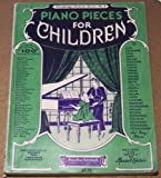 Piano Pieces for Children (Everybody's Favorite Series, No. 3 -- Contains Over 100 Selections; Cover Art By Barbelle)