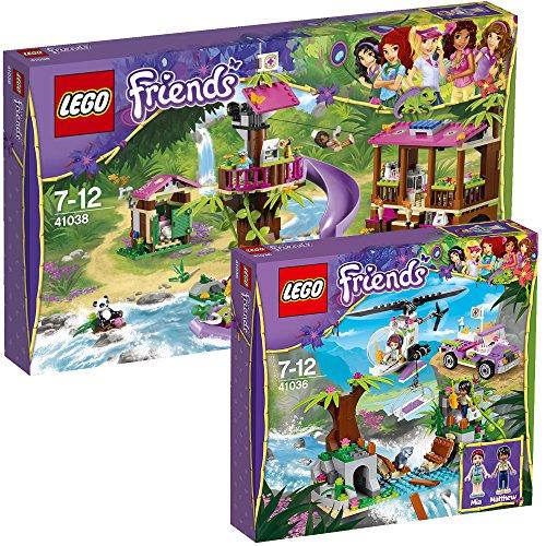 LEGO Friends 2-tlg. Set 41036 Rettung auf der