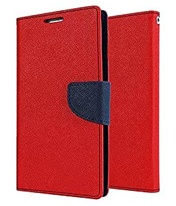 MPE Mercury Diary Case Flip Cover for I Phone 6 - Red