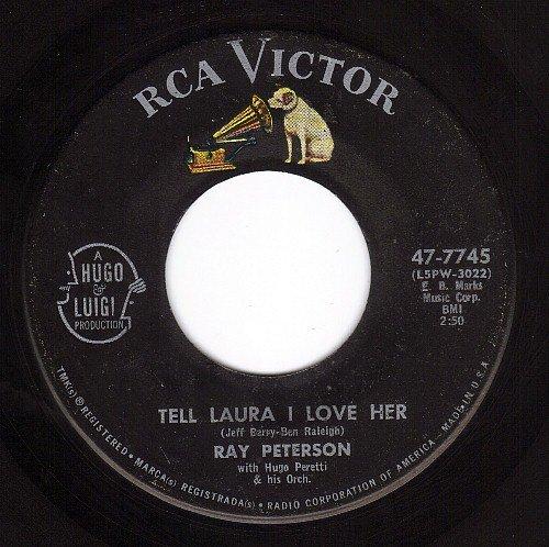 Ray Peterson - Tell Laura: I. Love Her - Zortam Music