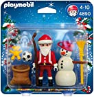 PLAYMOBIL Santa Claus with Snowman