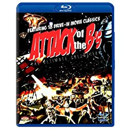 Attack Of The B's (SD Blu-ray) (Devil Girl From Mars / Rocketship X-M / Little Shop Of Horrors / Teenagers Outer Space / Bucket Blood / I Bury The Living / Spider Baby / Plan 9 / Santa Claus Conquers Martians / Brain That Wouldn't Die / Eegah! ...)