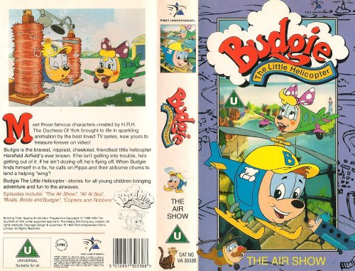 Budgie The Little Helicopter: The Air Show [VHS]