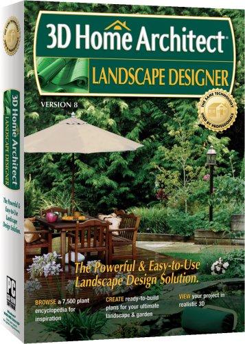 3D Home Architect Landscape Designer Version 8