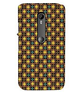PrintDhaba Pattern D-5344 Back Case Cover for MOTOROLA MOTO G3 (Multi-Coloured)