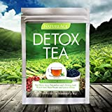 Nature Ace 14 Day Detox Tea - Best For Teatox, Body Cleanse, Bloating and Body Fat Reduction, Liver + Skin Detox, Weight Loss - 100% Natural Organic Chinese Herbs - For Men & Women - Premium Tea Bags