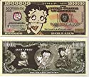 Betty Boop $Million Dollar$ Novelty Bill Collectible