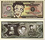 Betty Boop $Million Dollar$ Novelty Bill Collectible