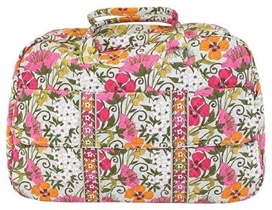 Vera Bradley Tea Garden Grand Traveler Carry