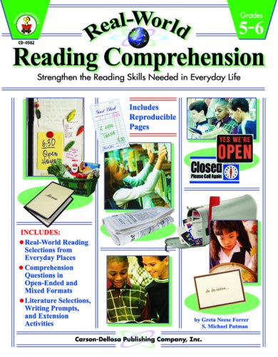 Real-World Reading Comprehension Grades 5-6