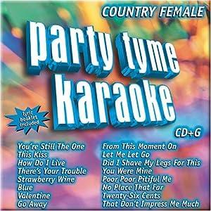 Party Tyme Karaoke Country Female