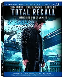Total Recall - Mémoires programmées - Version longue inédite double blu-ray (Contient la démo jouable exclusive de GOD OF WAR ASCENSION) [Blu-ray]