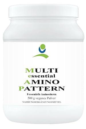 Multi essential Amino Pattern - 8 essentielle Aminosäuren - 500 g veganes Pulver