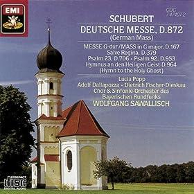 Schubert: Deustche Messe, D.872