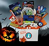 Go Ahead and Glow - Halloween Gift for Kids with Flashing Games, Glowing Toys and Halloween Treats