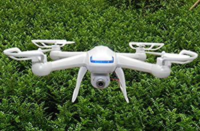 Night Lions Tech(TM) GW007 4-Channel 2.4ghz Remote Control 6 Axis Gyro 007 Spy Explorers Quadcopter Drone with 2mp Hd Camera &4gb Microsd, Pearl White Version