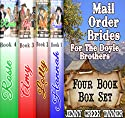 Mail Order Brides for the Doyle Brothers: Clean Western Romance Box Set Audiobook by Jenny Creek Tanner Narrated by Rebekah Amber Clark