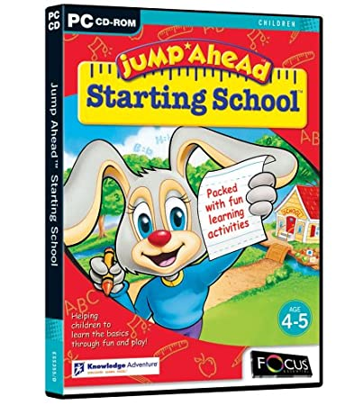 Jump Ahead Starting School (DVD Case)