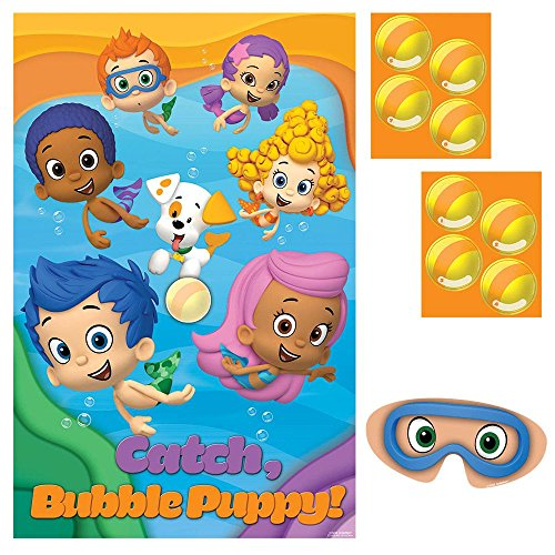 Bubble Guppies Party Game Poster (1ct)
