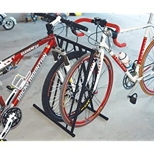 Click to buy Allen Lightweight Folding 6-Bike Parking Rack from Amazon!