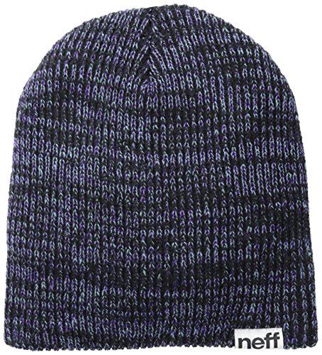 Neff Slashy Cuffia Black/Teal/Purple, unisex, Slashy, Black/teal/purple, Taglia unica