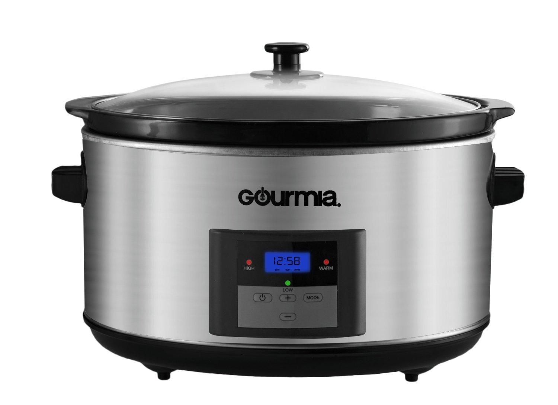 best slow cookers gourmia dcp860 slowsmart 8 5 quart. Black Bedroom Furniture Sets. Home Design Ideas