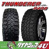 THUNDERER LT285/70R17インチ 121/118Q 10PR マッドタイヤ M/T 単品 サマータイヤ オフロード R408