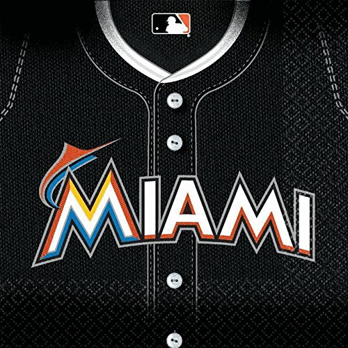 luncheon napkins md count miami marlins