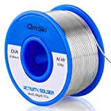 Solder Wire, Lead Free Solder Rosin Core Tin Wire 97Sn-0.7Cu-0.3Ag, 0.8mm,100g for Electrical Soldering and DIY (0.1)
