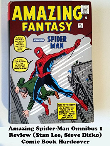 Amazing Spider-Man Omnibus 1 review (Stan Lee, Steve Ditko) comic book hardcover