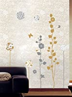 Ambiance Live Vinilo Decorativo Elegant sand and grey trees