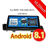 ROADYAKO 10.25Inch Android 8.1 Auto Stereo for BMW E90 2006 2007 2008 2009 2010 2011 2012 Car Radio CD GPS Navigation 3G WiFi Mirror Link RDS FM No DVD