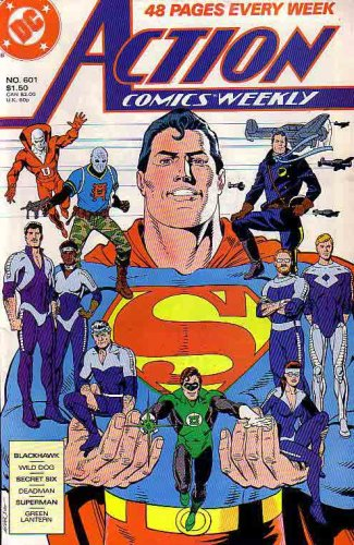 Action Comics Weekly (DC Comic) 1988, No. 601, James Owsley