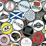 CMC Golf Ball Marker Assortment (Pack of 50)
