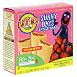 Earth's Best Organic Sunny Days Snack Bars, Strawberry, 5.3-Ounce Boxes (Pack of 6)