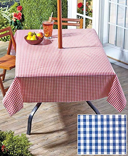 Gingham Tablecloth in two colors