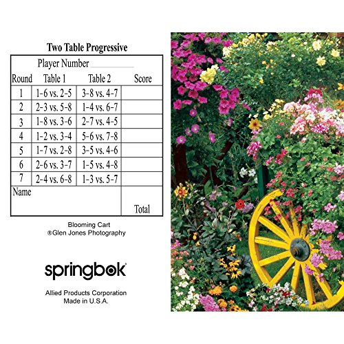 Springbok Puzzles Blooming Cart Bridge Tally Sheets - 1
