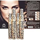 2 Sets (4 tubes) Love Alpha LA729 English Version (Gel & Fiber) Mascara Set - Brush on False Eyelashes