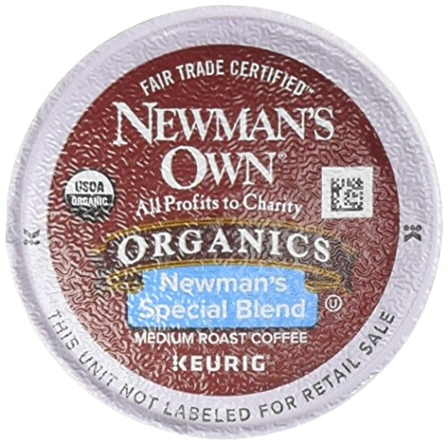 Newman's Own Organic Newman's Special Blend Coffee,  K-Cup Portion Pack for Keurig K-Cup Brewers, 12-Count (Pack of 2) (K Cups Coffee Newmans Own compare prices)