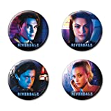 Ata-Boy Riverdale Characters Set of 4 1.25