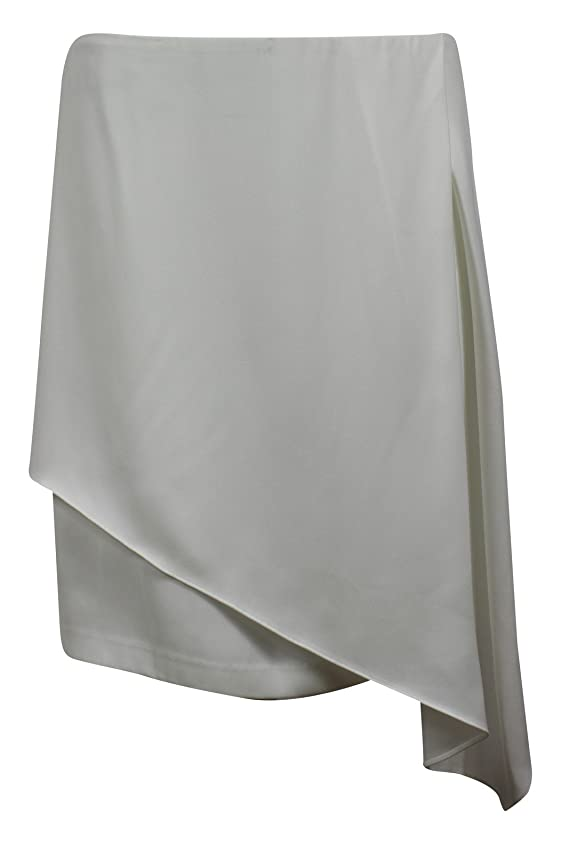 DKNY Women's White A-Line Skirt