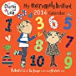 Charlie & Lola 2014 Wall Calendar with stickers