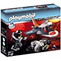Playmobil - 4877 - Jeu de construction - Jet de d�tection des Agents Secrets