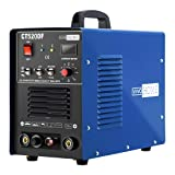 VIVOHOME 3 In 1 Multi-functional Plasma Cutter Cutting TIG STICK/MMA Non Touch Pilot Arc Welding Machine Dual Voltage 110/220V CT520DF Blue (Color: CT520DF Blue)