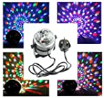 Music Activated RGB Rotating LED Stag...