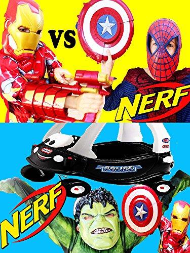 Watch 'SUPERHERO Spiderman VS Ironman and Incredible HULK ...
