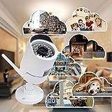 ieGeek-Auen-Wasserdicht-HD-1280x720P-Wlan-IP-berwachungskamera-Emaildie-mobile-Benachrichtigung-Remote-Wiedergabe-IR-Nachtsicht-Bis-zu-128GB