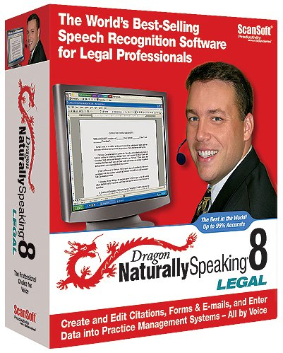 Dragon Naturally Speaking Legal Solution 8 Var Us Eng Win