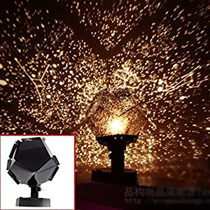 boutique1583 Science Projection Lamp Night-light Sky Star Universe Projection Lamp Gift from boutique1583