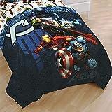 Marvel Avengers Twin Bed Comforter Earth's Mightiest Heroes Bedding